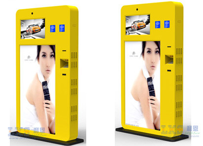 32inch Led Touch Large Screen Information Kiosk With Thermal Kiosk Printer