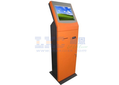 Gift Card Self Checkout Kiosk Including Card Dispenser Cash Currency Validator
