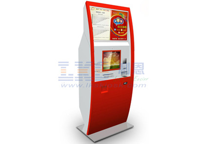 12 / 22 Inch Dual Screen Kiosk Billnotes Validator Interactive Payment Terminal